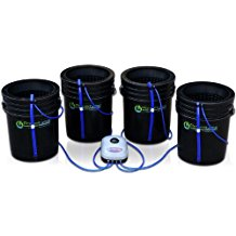 Deep Water Culture (DWC) Hydroponic Bubbler Bucket Kit by PowerGrow