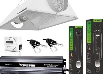 VIVOSUN 1000W HPS Grow Light Air Cooled Reflector Kit Reviewed