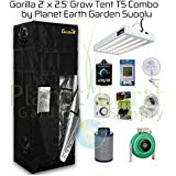 2' x 2.5' Gorilla Grow Tent Kit T5