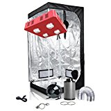 Oppolite LED Grow Light Tent Complete Kit
