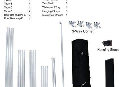 VIPARSPECTRA Reflective 600D Mylar Grow Tent kit