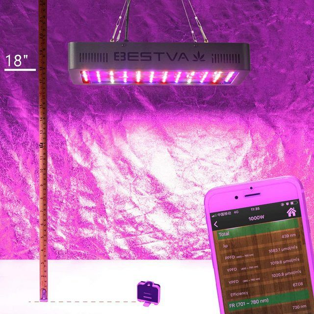 BESTVA 1000W LED Grow Light .1