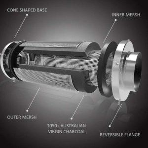 4 Inch Air Carbon Filter growneer