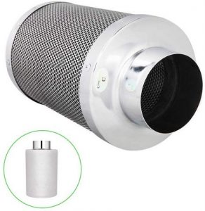 CoolGrows 4 inch Air Carbon Filter