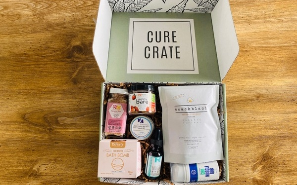 Cure Crate subscription box