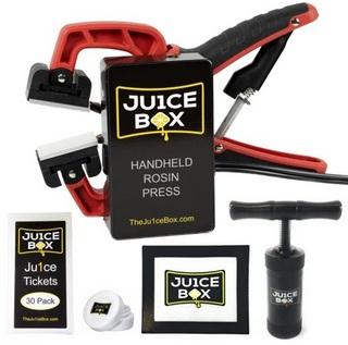 Ju1ceBox handheld rosin press