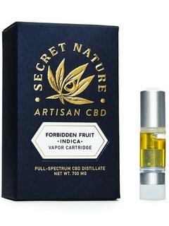 CBD vape oil secretnature forbiden fruit