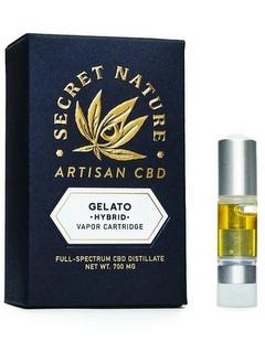 secretnature vape oil Gelato 33