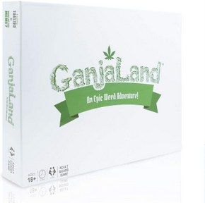 Ganjaland weed smoking game
