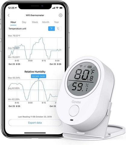Govee WiFi Temperature Humidity Sensor