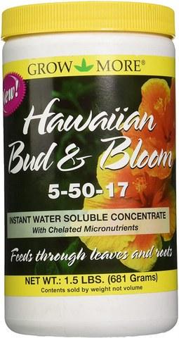 Grow More 7505 Hawaiian Bud and Bloom Fertilizer