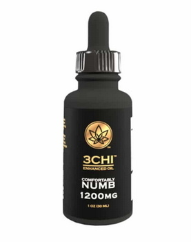 3chi Comfortably Numb Delta 8 THC Tincture