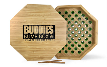 Buddies Octagonal Wooden Bump Box