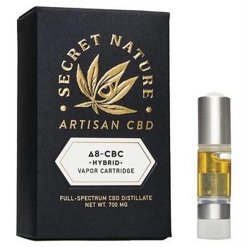 secret nature Delta 8 cartridge