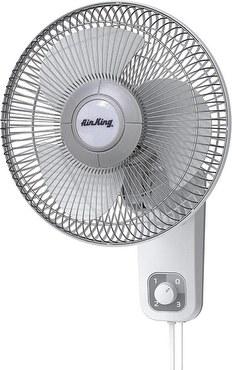Air K Oscillating Wall Mount Fan
