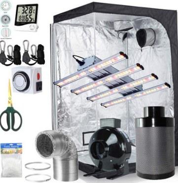 BloomGrow 1200W LED grow kit