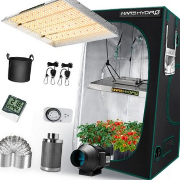 Mars Hydro TSW 2000 LED Indoor Tent Kits Combo