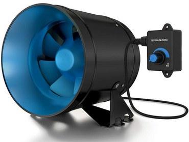 TerraBloom ECMF-150 Quiet 6 Inline Duct Fan