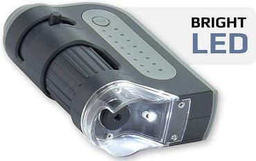 Carson MicroBrite Plus 60x-120x LED Lighted