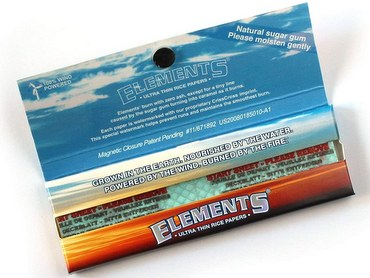 Elements Ultra Thin Rice Rolling Paper