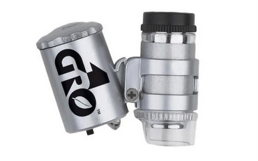 Gro1 LED Binocular Microscope 60x