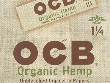 OCB Organic Hemp Unbleached Rolling Papers