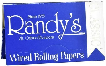 Randy's Unbleached Cigarette Rolling Papers