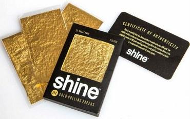 SHINE 12 Sheet Gold