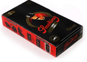 Smoking Black Deluxe Rolling Paper