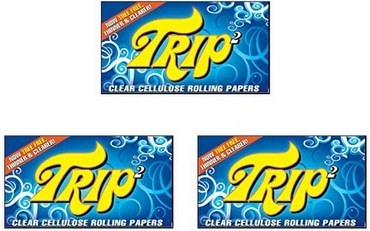Trip2 Trip 2 Clear Rolling Papers