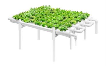 VIVOSUN Hydroponic Grow Kit 1 Layer 54 Plant Sites