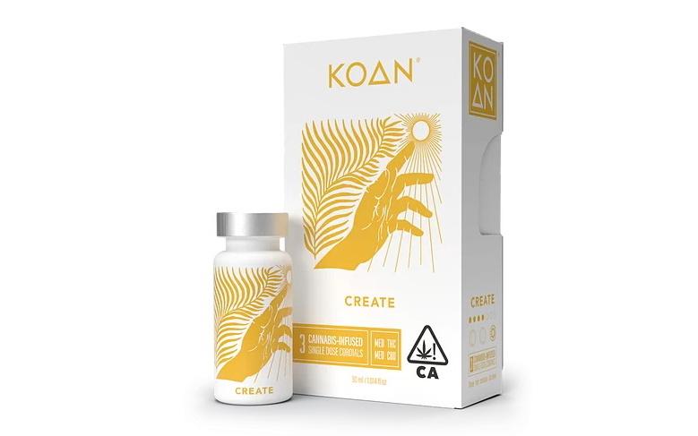 How Koan Uses CBD to Improve Its Cannabis Cordials