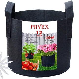 PHYEX 3 Gallon Nonwoven Grow Bags
